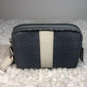 Coach Signature Small Zippered Case